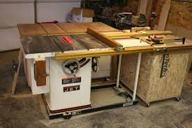 Sawstop Cabinet Saw Outfeed Table by Take A Peek Inside My Shop Finewoodworking