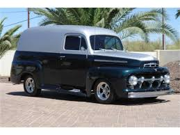 100 Ford Panel Truck For Sale 1951 For ClassicCarscom CC1095313
