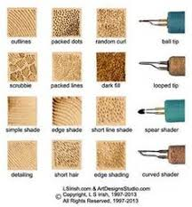 pyrography stroke guide http www lsirish com tutorials