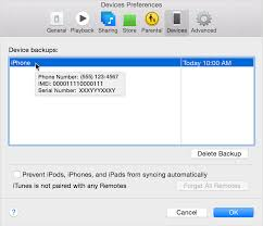How to find serial number on dead iPhone 5