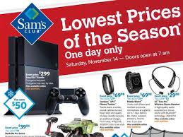 Sams Club Desktop by Black Friday Watch Sam U0027s Club Sets Nov 14 For 1st Pre Holiday