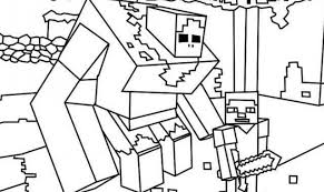 Minecraft Printable Pictures To Color