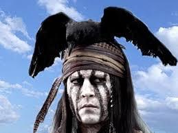 johnny depp in the lone ranger 10 3 2012 etc