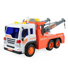 GizmoVine Toy Cars, Friction Powered Big Dump Truck Vehicle With ...