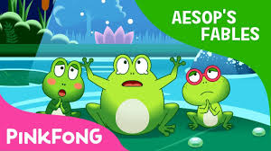 100 King Of The Frogs Who Desired A Aesops Fables Pinkfong Story Time For Children