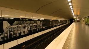 100 Karlaplan Stockholm Tunnelbana Station Tour Rda Linje Red Line 2015 10 17