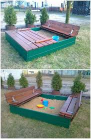 60+ DIY Sandbox Ideas And Projects For Kids - Page 5 Of 10 - DIY ... Sandbox With Accordian Style Bench Seating By Tkering Tony How To Make A Sandpit Out Of Stuff Lying Around The Yard My 5 Diy Backyard Ideas For A Funtastic Summer Build 17 Plans Guide Patterns In Easy And Fun Way Tips Fence Dog Yard Fence Important Amiable March 2016 Lewannick Preschool Activity Bring Beach Your Backyard This Fun The Under Deck Playground Between3sisters Yards
