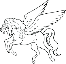 Cute Baby Pegasus Coloring Pages Page Unicorn Online Also Winged Cool Pictures Nice Design