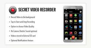 Secret Video Recorder Mobile App Development Android App
