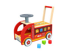 Wooden Ride On Fire Truck   Tooky Toy   Baby Toddler   Shape Sorter ... Fire Truck Ride On W Fireman Toy Vehicles Play Unboxing Toys American Plastic Rideon Pedal Push Baby Power Wheels Paw Patrol Battery On 6 Volt Toddler Engine For Kids Review Pretend Rescue Toyrific Charles Bentley Trucks For Toddlers New Buy Jalopy Riding In Cheap Price Malibacom Lil Rider Rideon Lilrider Amazoncom Operated Firetruck Games Little Tikes Spray At Mighty Ape Nz Speedster Toddler Toy Wonderfully Best Choice