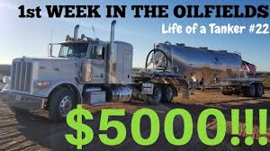 100 Oil Trucking Jobs My First Week In The Fields As A Frac Sand Driver And My New