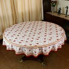 Indian Round Tablecloth 177 Home Decorations Spring Floral Cotton By ShalinCraft