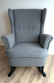 ottomans ikea glider chair and ottoman karlstad leather slate