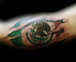 Luxury Mexican Flag Tattoo 28 About Remodel Tattoos For Men With