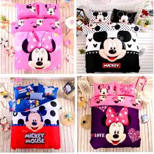 bathroom outstanding mickey mouse bedding and minnie set