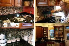 DIY Kitchen Backsplash 1