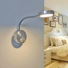 3w modern aluminum led wall lights bulb l with switch 85 265v