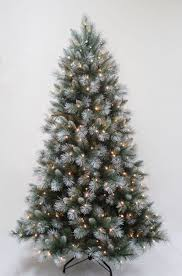 Fiber Optic Christmas Trees On Sale by Interior Pre Lit Christmas Tree Black Green Gold Warm White Led
