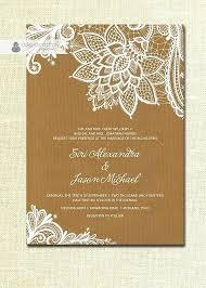 Inspirational Rustic Chic Wedding Invitations Diy Or