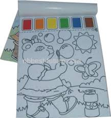 Paint With Water Coloring Book
