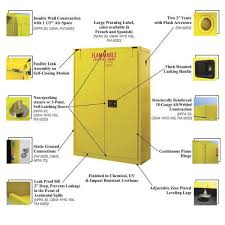 Fireproof Storage Cabinet For Chemicals by Flammable Storage Cabinets Osha Roselawnlutheran
