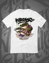 Kroko Loco T Shirt White – 187 Strassenbande Shop