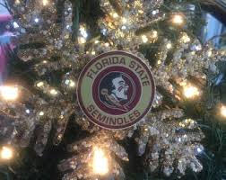 Florida State Snowflake Ornament