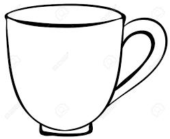 1300x1060 Closeup Plain Design Of Coffee Cup Royalty Free Cliparts Vectors