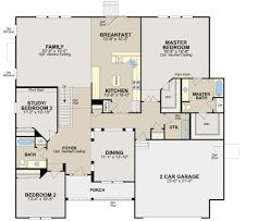 Ryland Homes Floor Plans Arizona by Carrington Floor Plan In The Sonatas Calatlantic Homes