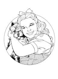 Printable Splendid Ideas Coloring Pages Wizard Of Oz Kids