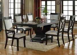 Cheap Dining Room Sets Espresso Table Contemporary Serendipity 7 Piece Set In Extra Dark