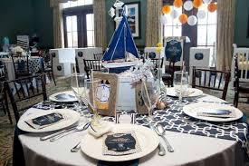 Nautical Themed Baby Shower Table Decoration Ideas