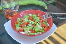 cuisiner le basilic fèves à la tomate basilic au fil du thym