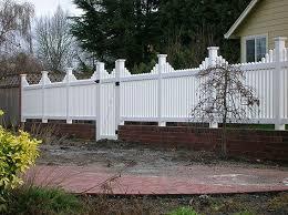 vinyl fences vancouver wa cascade fence deck