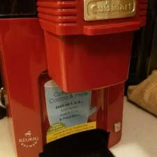 Awesome RED Cuisinart Keurig Coffee Maker