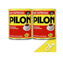 Pilon Coffee Espresso Can 10oz 2 Pack