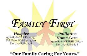Family First Home Health Palliative Care And Hospice