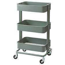 ikea raskog utility cart grigio verde 13 3 4x17 3 4x30 3 4 904 431 35