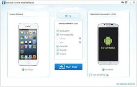 How to Transfer data between iPhone and Android Phone