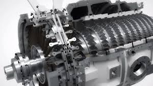 100 Turbine Truck Engines Siemens SGT750 Gas Turbine Flythrough Stephen Carl Murphy