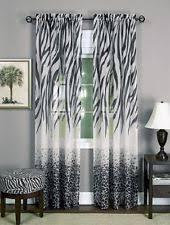 Zebra Curtain by Zebra Window Curtains Ebay