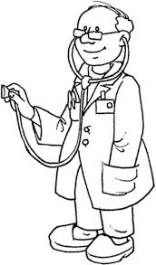 Coloring Picture Of Doctor