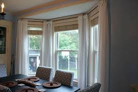 Bay Window Curtain Ideas 5 Treatments Other Dining Room Unique