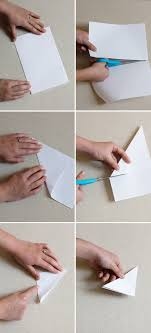 Step By Instructions To Make 3D Snowflakes
