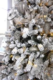 Christmas Tree Flocking Spray by Holiday Home Showcase Decor Gold Designs