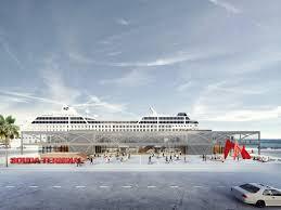 100 Bay Architects For Urbanity 2nd Prize Souda Terminal