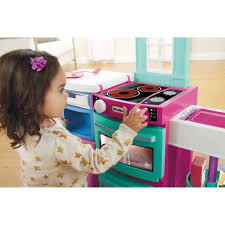 Play Kitchen Sets Walmart by Little Tikes Cook U0027n Store Kitchen Pink Walmart Com