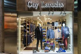 Guy Laroche Mens Clothes Store By Square Design Interiors Athens Greece