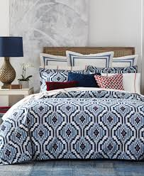 closeout tommy hilfiger home ellis island ikat bedding collection