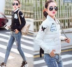 Online Cheap 2016 Winter New Jacket Women Korea Slim Fashion Baseball Uniform Warm Womens Coat Down Female Parkas Casaco Feminino By Fhtdttfc